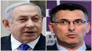 رئيس الوزراء بنيامين نتنياهو وعضو حزب ليكود جدعون ساعر