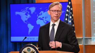 المبعوث الأمريكي الخاص بشأن إيران براين هوك