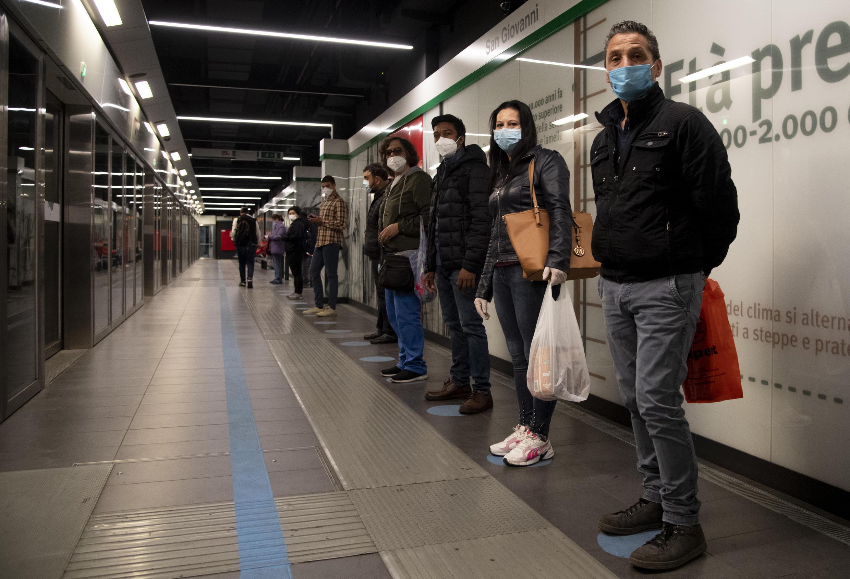 metro rome 27 04 2020