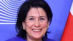 رئيسة جورجيا سالوميه زورابيشفيلي