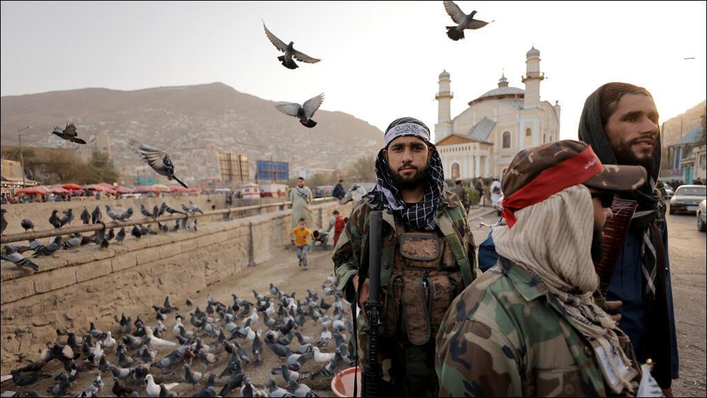 مقاتلون من حركة طالبان في كابول
