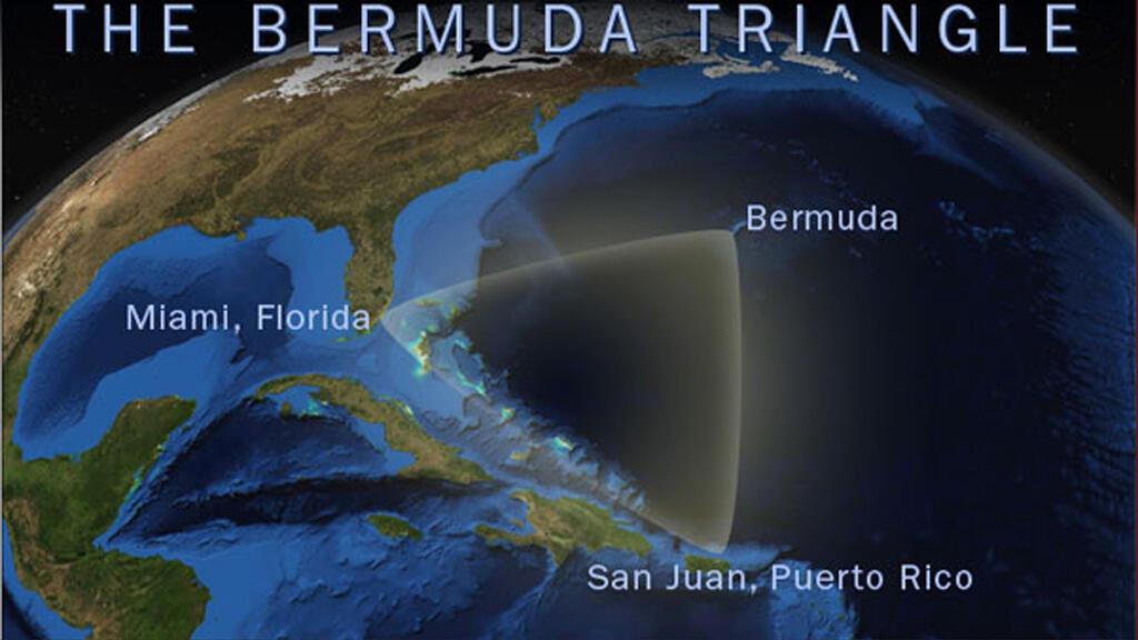 موقع مثلث برمودا الجغرافي