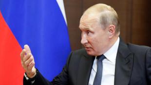 الرئيس الروسي فلاديمير بوتين-رويترز