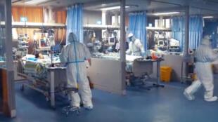 مستشفى في الصين لعلاج مرضى فيروس كورونا