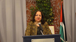 د. مي كيله وزيرة الصحة الفلسطينية