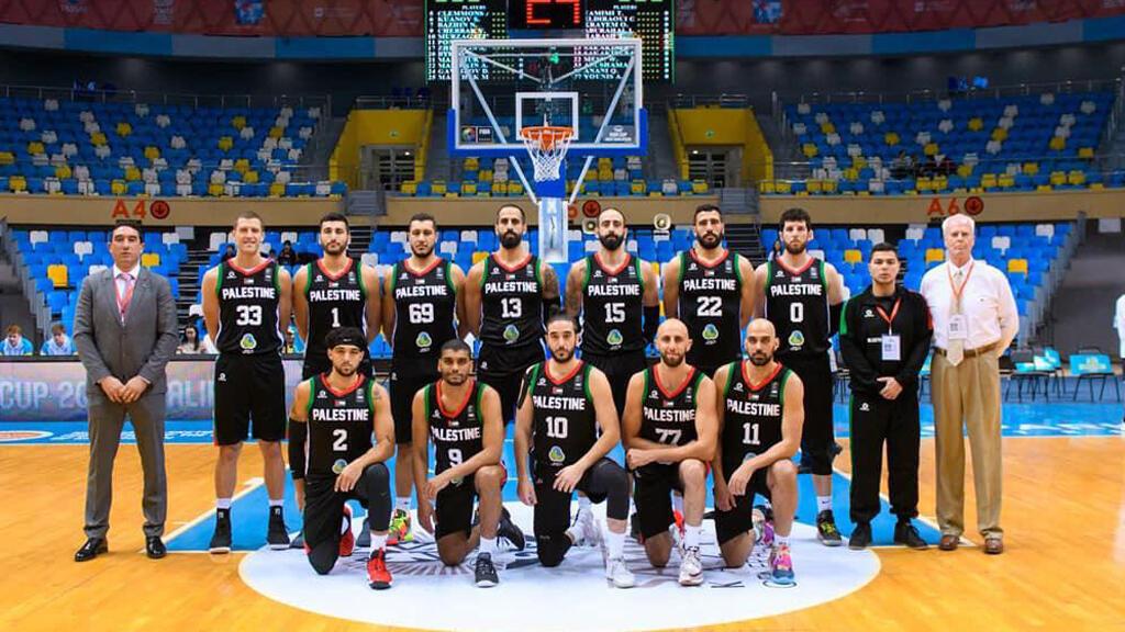 منتخب فلسطين لكرة السلة