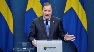 رئيس وزراء السويد في ستوكهولم