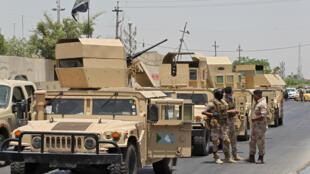 سيارات تابعة للجيش العراقي