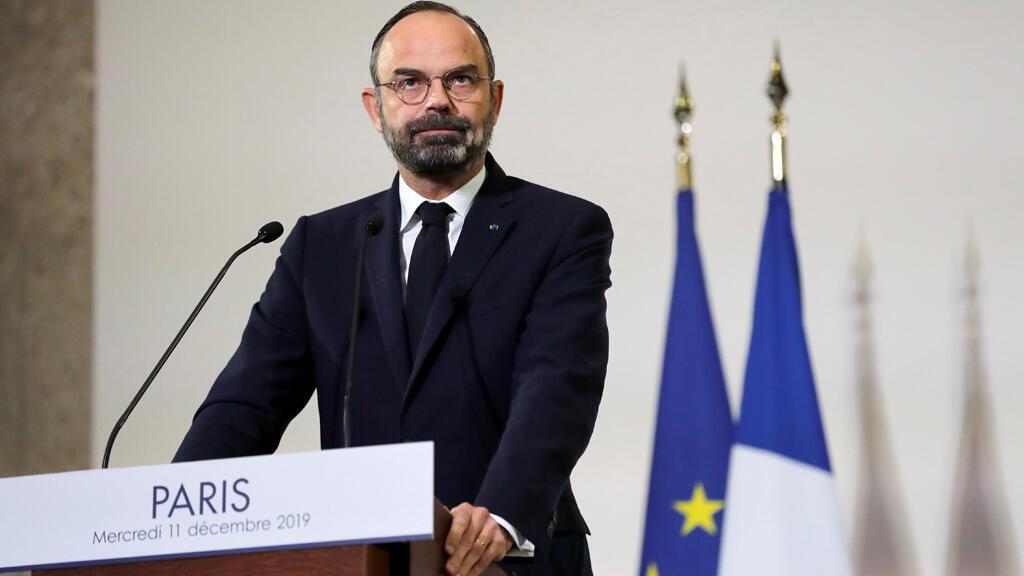 رئيس الحكومة الفرنسية ادوارد فليب