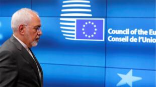 وزير خارجية إيران جواد ظريف، الاتحاد الأوروبي، بلجيكا