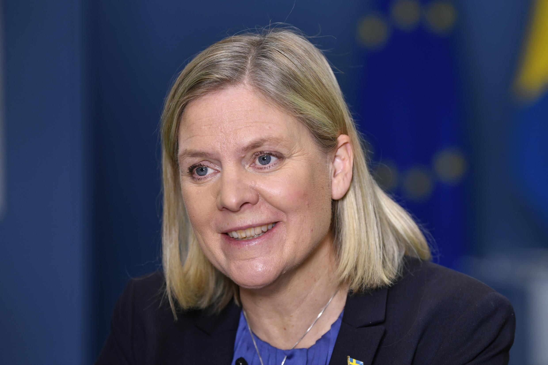 وزيرة المالية السويدية