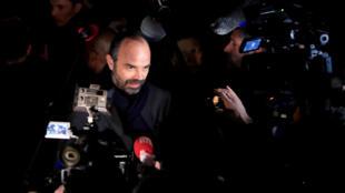رئيس الحكومة الفرنسية أدوار فيليب