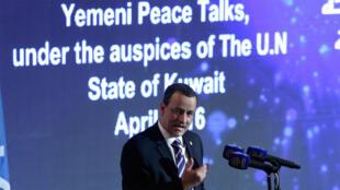 محادثات السلام اليمنية في الكويت، المبعوث الأممي إلى اليمن اسماعيل ولد الشيخ أحمد