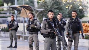 عناصر من الشرطة الاسرائيلية