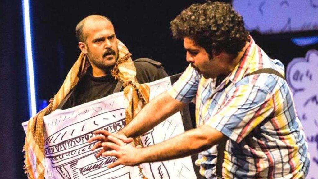 """مشهد من مسرحية """"عطسة"""" الكويتية"""