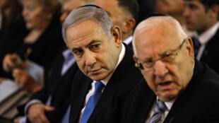 الرئيس الإسرائيلي مع رئيس الوزراء في القدس