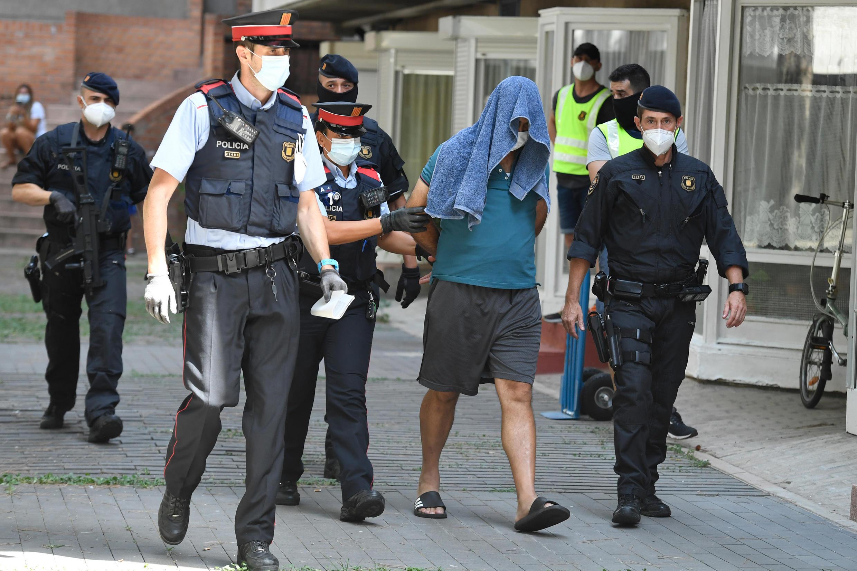 arrestation terrorites barcelone 14 07 2020