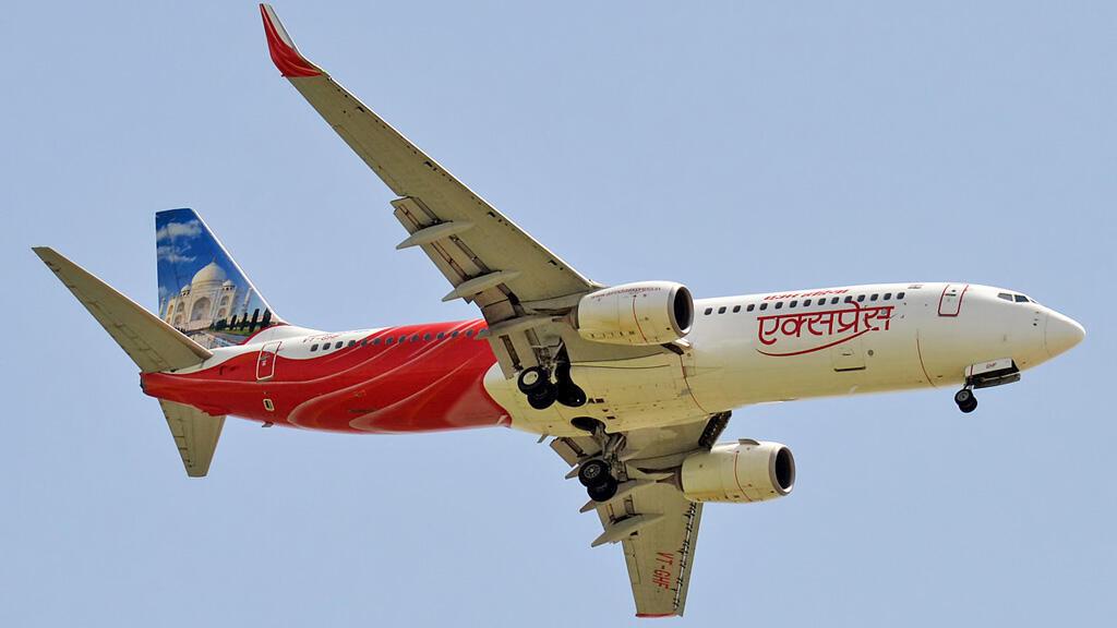 طائرة تابعة لشركة اير انديا اكسبرس