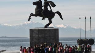 تمثال لألكسندر الأكبر