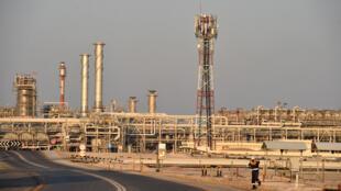 مصنع أبقيق للنفط التابع لشركة أرامكو السعودية
