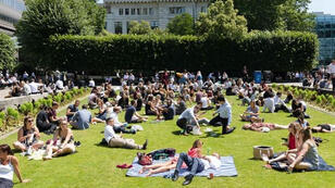 صورة تظهر ارتفاع درجة الحرارة في بريطانيا