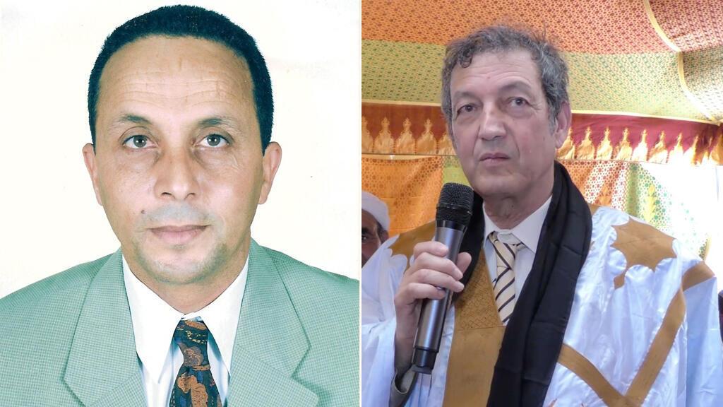 من اليمين إلى اليسار: د. الحافي ود. خالدي