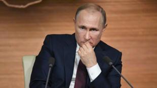 بوتين في العاصمة الروسية موسكو