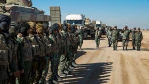عناصر من الجيش الايراني
