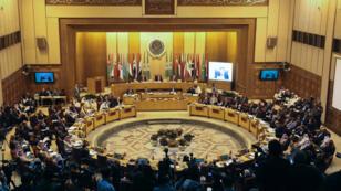 صورة عامة لاجتماع وزراء الخارجية العرب