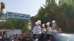 جنازة سامي عبد الحميد