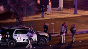 قوات شرطة أمريكية بلاس فيغاس