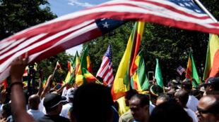 تجمعات إثيوبية في الولايات المتحدة