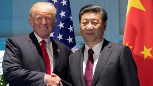 / الرئيس الأمريكي ونظيره الصيني