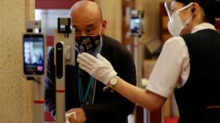 تدابير فيروس كورونا في اليابان