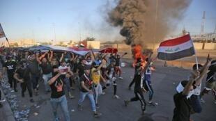 الحركة الاحتجاجية في العراق