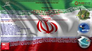 مجموعات الحرب السيبرانية الإيرانية