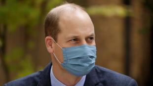 الأمير وليام في مستشفى بالعاصمة البريطانية لندن