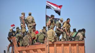 قوات من الحشد الشعبي تتجه نحو الحويجة