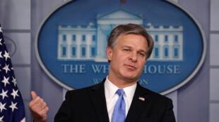 مدير مكتب التحقيقات الفدرالي كريستوفر راي