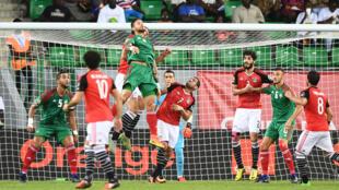 مباراة بين منتخب مصر والمغرب عام 2017