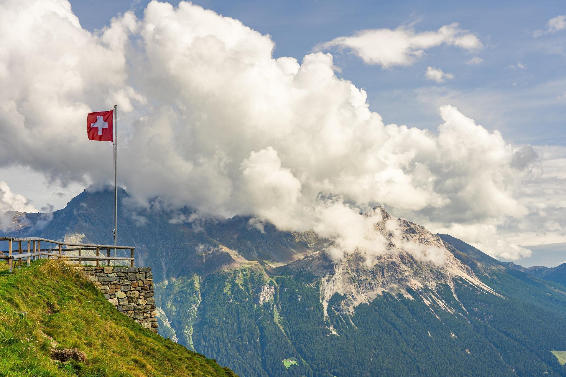 العلم السويسري