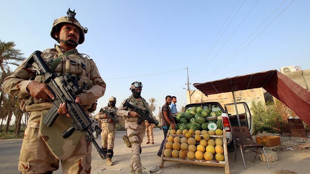 قوات من الجيش العراقي
