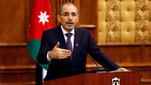 وزير الخارجية الأردني أيمن الصفدي في عمان- رويترز