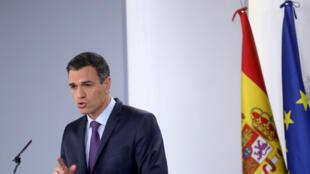 رئيس الوزراء الاشتراكي بيدرو سانشيز