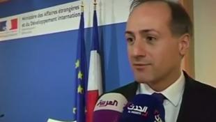 ألكسندر جورجيني نائب المتحدث باسم وزارة الخارجية الفرنسية