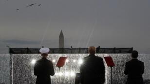 الرئيس الأميركي دونالد ترامب خلال احتفال الاستقلال في 4 تموز - يوليو 2019