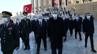 الرئيس التركي رجب طيب إردوغان في أنقرة