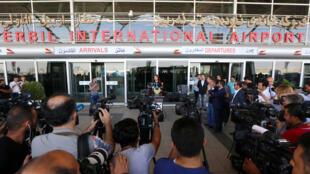 مطار أربيل، كردستان العراق 29-09-2017