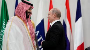 فلاديمير بوتين ومحمد بن سلمان