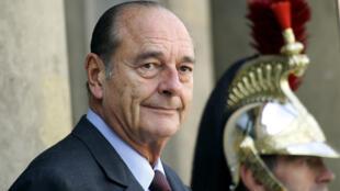 الرئيس الفرنسي الراحل جاك شيراك